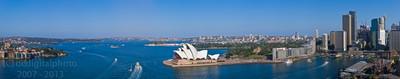 Stunning Sydney Harbour Panorama XXXL